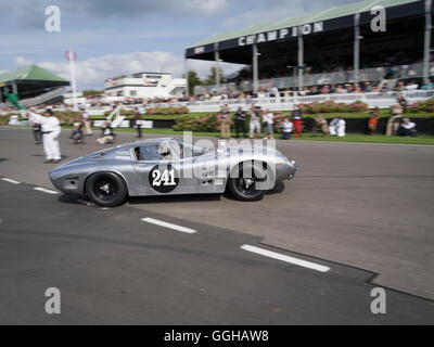 1964 ISO Bizzarini A3C, RAC TT Celebration, Goodwood Revival 2014, Racing Sport, Classic Car, Goodwood, Chichester, - Stock Photo