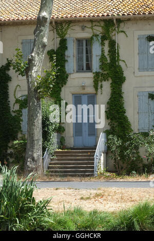 French architecture in the Langedoc region of South-west France - Stock Photo