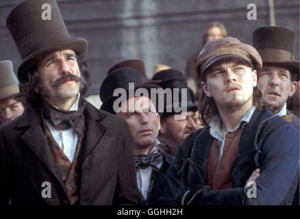 GANGS OF NEW YORK / Gangs of New York USA 2002 / Martin Scorsese Bill the Butcher (DANIEL DAY-LEWIS), Amsterdam - Stock Photo