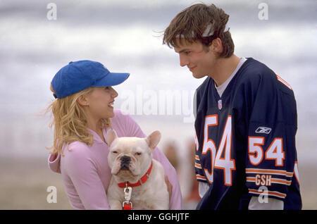 VOLL VERHEIRATET / Just Married USA 2002 / Shawn Levy Sarah (BRITTANY MURPHY), Tom (ASHTON KUTSCHER) Regie: Shawn - Stock Photo