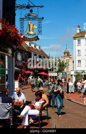 The Pump House, Market Street, The South Lanes, Brighton, East Sussex, England, Great Britain - Stock Photo