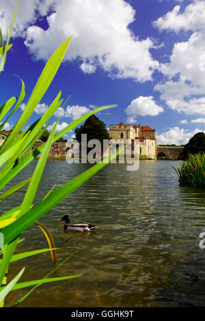 Leeds Castle, Maidstone, Kent, England, Great Britain - Stock Photo