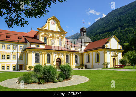 Monastery Stams, Stams, Tyrol, Austria - Stock Photo