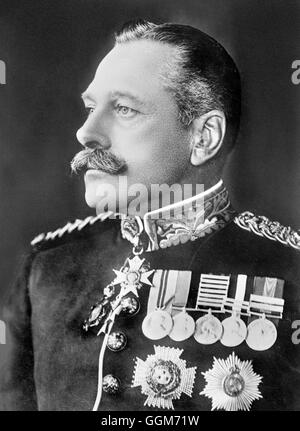 Douglas Haig. Portrait of Field Marshal Douglas Haig, 1st Earl Haig,  (1861-1928). Photo from Bain News Service, - Stock Photo