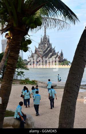Prasat Satchatham, Pattaya, Chon Buri, Golf of Thailand, Thailand