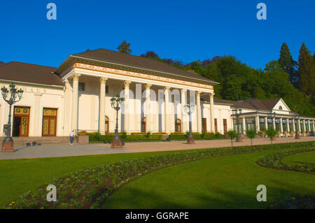 Baden-Baden, Casino, Kurhaus spa resort, Black Forest mountain range, Baden-Wuerttemberg, Germany, Europe. - Stock Photo