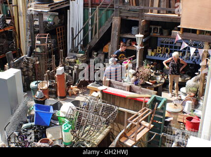 an antiques and salvage shop and yard in penrith cumbria