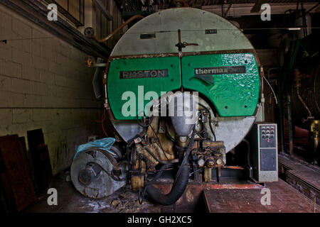 Inside the boiler room within the closed St Clements Hospital in ...