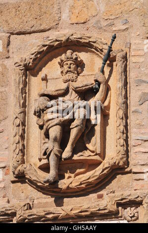 geography / travel, Spain, character at the Puente de San Martin, Toledo, Additional-Rights-Clearance-Info-Not-Available - Stock Photo