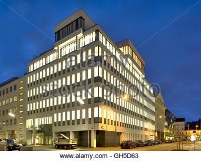 Bürogebäude Wagenseilgasse 14 - Stock Photo
