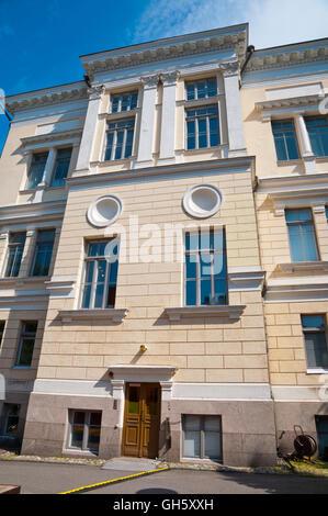 Suomen arkkitehtuurimuseo, Museum of Finnish Architecture, Helsinki, Finland - Stock Photo