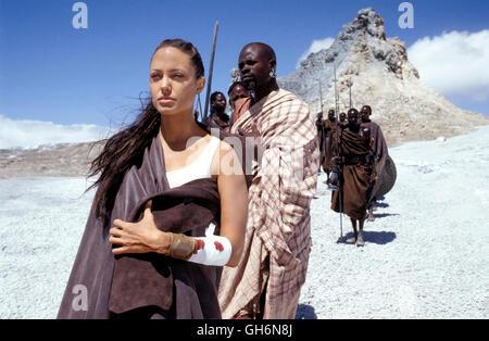 LARA CROFT - TOMB RAIDER - DIE WIEGE DES LEBENS / Lara Croft - Tomb Raider - The Cradle of Life USA 2003 / Jan de - Stock Photo