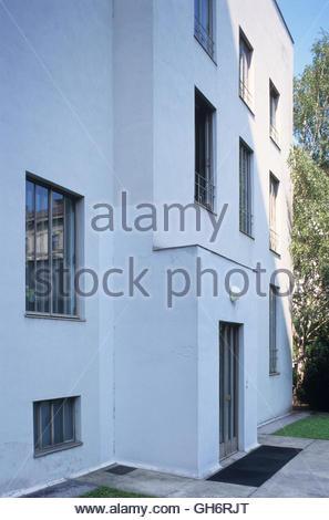 Wien, Haus Stonborough-Wittgenstein, Ludwig Wittgenstein 1926-1928 (Das Haus Wittgenstein ist ein Gebäude, das ursprünglich - Stock Photo