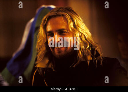 PER ANHALTER DURCH DIE GALAXIS Hitchhikers Guide to Galaxy USA/UK 2005 Garth Jennings Zaphod Beeblebrox (SAM ROCKWELL) - Stock Photo