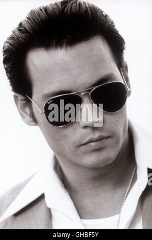 DONNIE BRASCO USA 1997 Mike Newell Donnie Brasco/Joe Pistone (JOHNNY DEPP) Regie: Mike Newell - Stock Photo