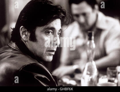 DONNIE BRASCO USA 1997 Mike Newell Lefty Ruiggiero (AL PACINO) Regie: Mike Newell - Stock Photo