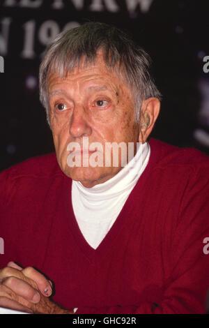 Canadian Director EDWARD DMYTRYK (1908-1999), Portrait (1990) - Stock Photo