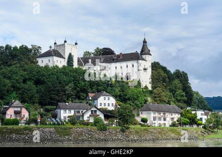 Ottensheim: castle Ottensheim, Austria, Oberösterreich, Upper Austria,