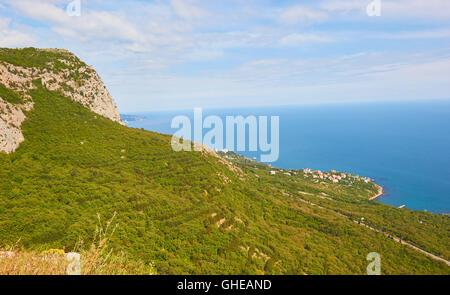 Black sea coast Crimea - Stock Photo