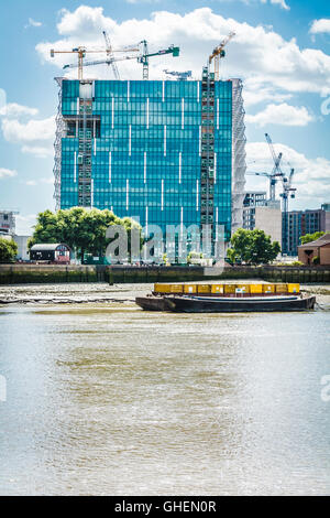 New Us Embassy London London England Uk The New Us Embassy In Nine Elms Being Built