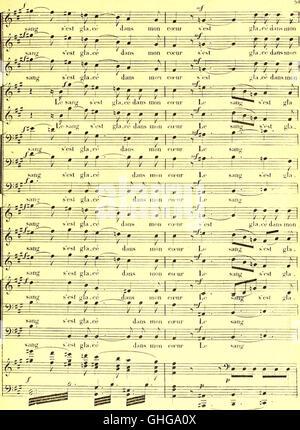La prise de Troie - poème lyrique en deux actes et trois tableaux (1800) - Stock Photo