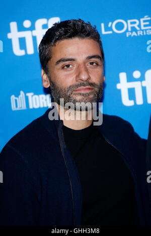 Toronto, Canada. 13th Sep, 2016. Actor Oscar Isaac attends the photo call of The Promise during the 41st Toronto - Stock Photo