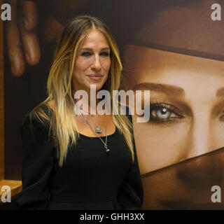London, UK. 14th September, 2016. Sarah Jessica Parker attends a photocall as she launches her new fragrance 'Stash' - Stock Photo