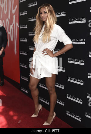 Los Angeles, California, USA. 27th September, 2016.  Ciara at Revlon's Annual Philanthropic Luncheon at Chateau - Stock Photo
