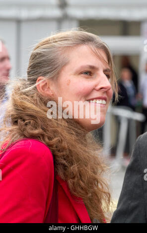 Liverpool, UK . 28th September, 2016. Final Day Labour Party Conference:   Rachael Maskell MP talks to loyal members - Stock Photo
