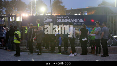 Gosport, Hampshire, UK. 28th September, 2016.  The rumour mill has been buzzing about A-listers out in force at - Stock Photo