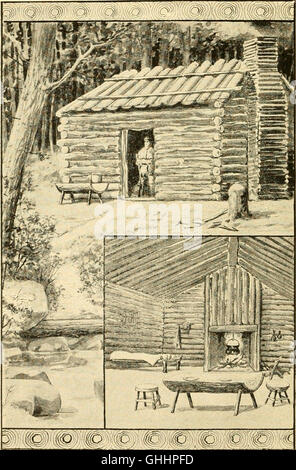 Young people's history of Virginia and Virginians (1904) - Stock Photo