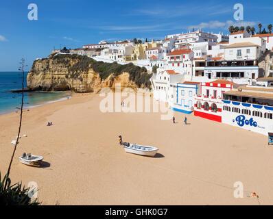 Praia de Carvoeiro, Algarve, Portugal - Stock Photo