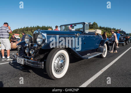 Graham Paige 827 Roadster American car at Americarna Classic Car Show, Inglewood, New Zealand. - Stock Photo