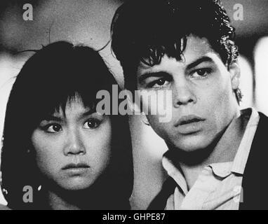 Krieg in Chinatown - Eine moderne Romeo-und Julia-Geschichte, die in den Straßen New Yorks spielt: Der junge Tony - Stock Photo