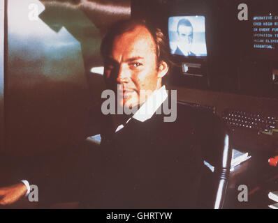 JAMES BOND: SAG NIEMALS NIE Never say never again USA 1983 - Irvin Kershner Der gefährliche Verbrecher Blofeld hat - Stock Photo