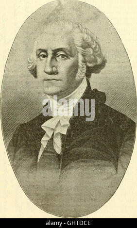 Some old historic landmarks of Virginia and Maryland, described in a hand-book for the tourist over the Washington, - Stock Photo