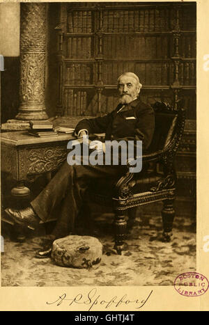 The library of historic characters and famous events of all nations and all ages (1894) - Stock Photo