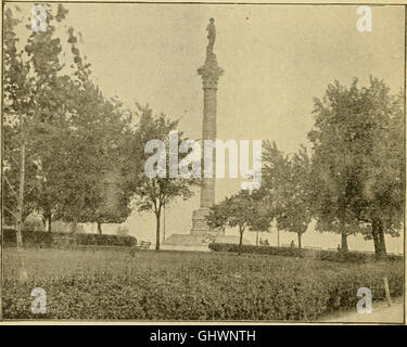 A young people's history of Virginia and Virginians (1896) - Stock Photo