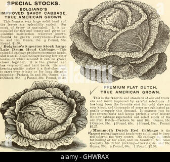 Bolgiano's 1902 catalogue - tested seeds for the garden and farm (1902)