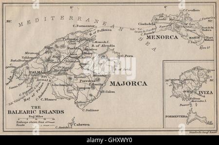 Map of Formentera Stock Photo Royalty Free Image 47482417 Alamy