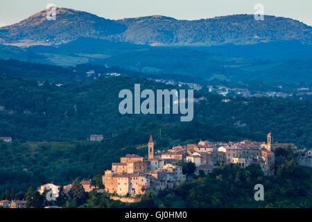 Seggiano, Province of Grosseto, Tuscany, Italy - Stock Photo