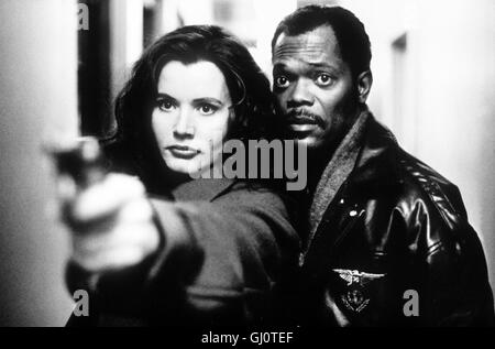 geena davis samuel l jackson samantha caine geena davis. Black Bedroom Furniture Sets. Home Design Ideas