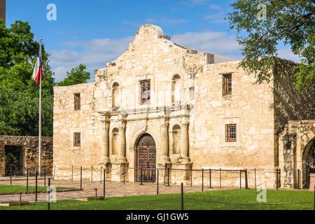 The Alamo in San Antonio, Texas, USA. - Stock Photo