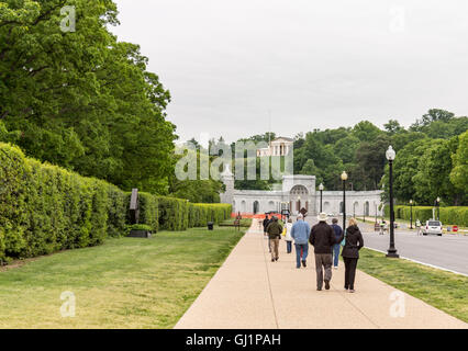 Arlington National Cemetery Washington DC - Stock Photo