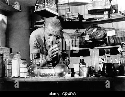 DER GEFANGENE VON ALCATRAZ Birdman of Alcatraz Der Film erzählt die Geschichte eines Doppelmörders, der sich während - Stock Photo