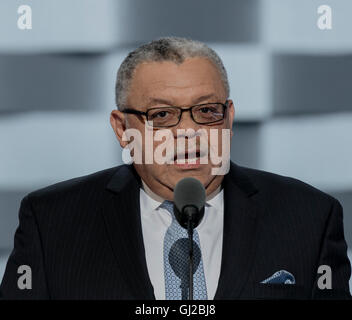 Philadelphia, Pennsylvania, USA, 28th July, 2016 Charles H. Ramsey the former police commissioner of Philadelphia - Stock Photo