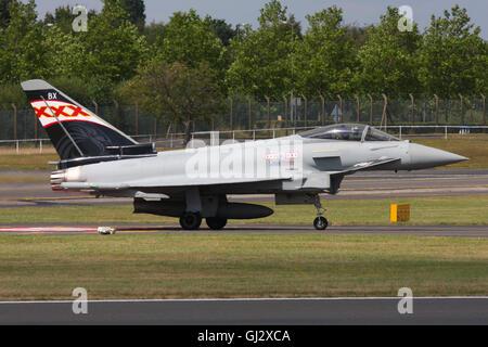 RAF EUROFIGHTER TYPHOON - Stock Photo