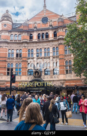 Harry Potter and the Cursed Child - The Palace Theatre, London. - Stock Photo