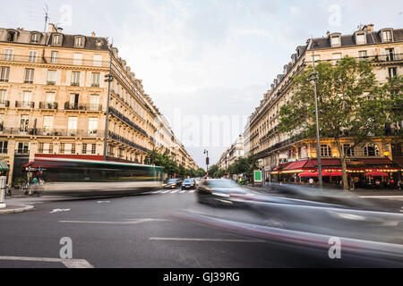View from Place de la Republique, Paris, France