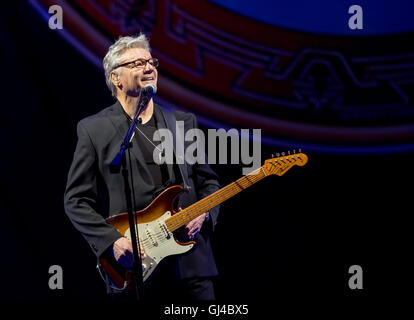 Las Vegas, NV, USA. 12th Aug, 2016. ***HOUSE COVERAGE*** Steve Miller Band performs at The Chelsea at The Cosmopolitan - Stock Photo